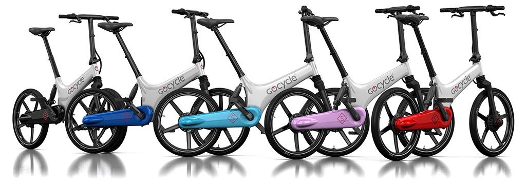 Gocycle GS razpoložljive barve