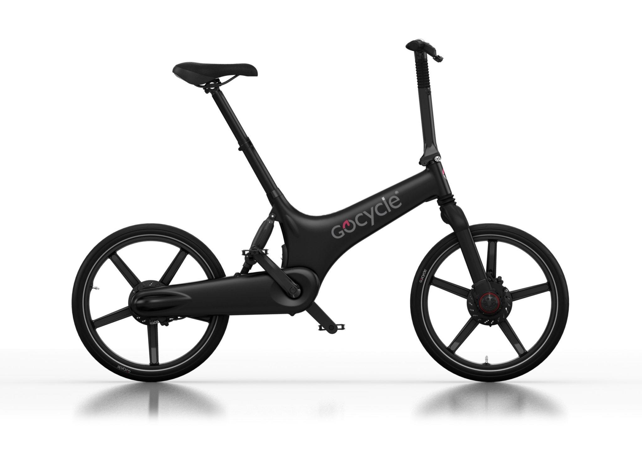 Gocycle G3 črne mat barve