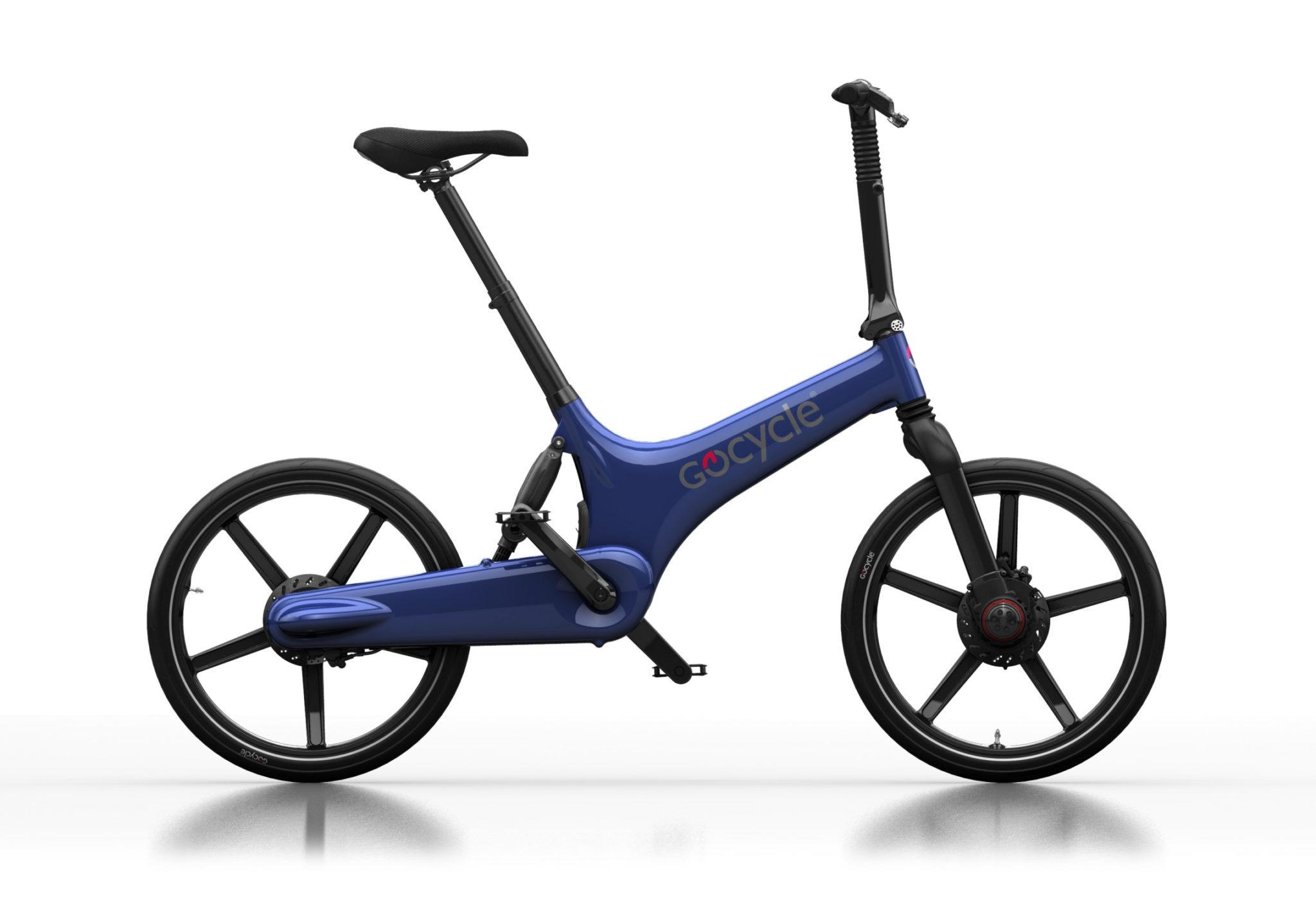 Gocycle G3 modre barve