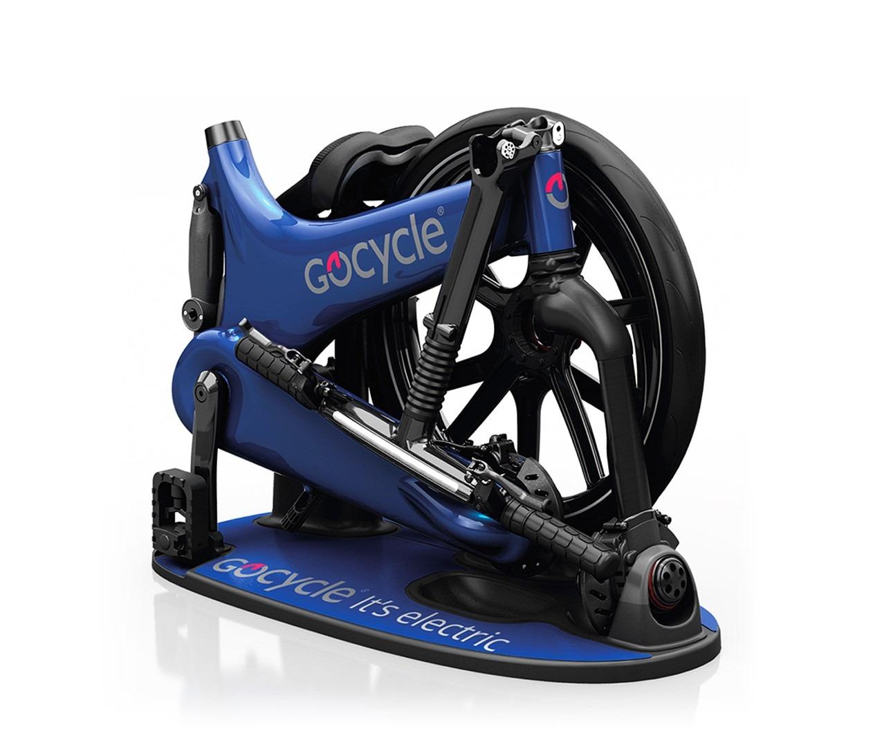 Gocycle G3 sestavljeno kolo
