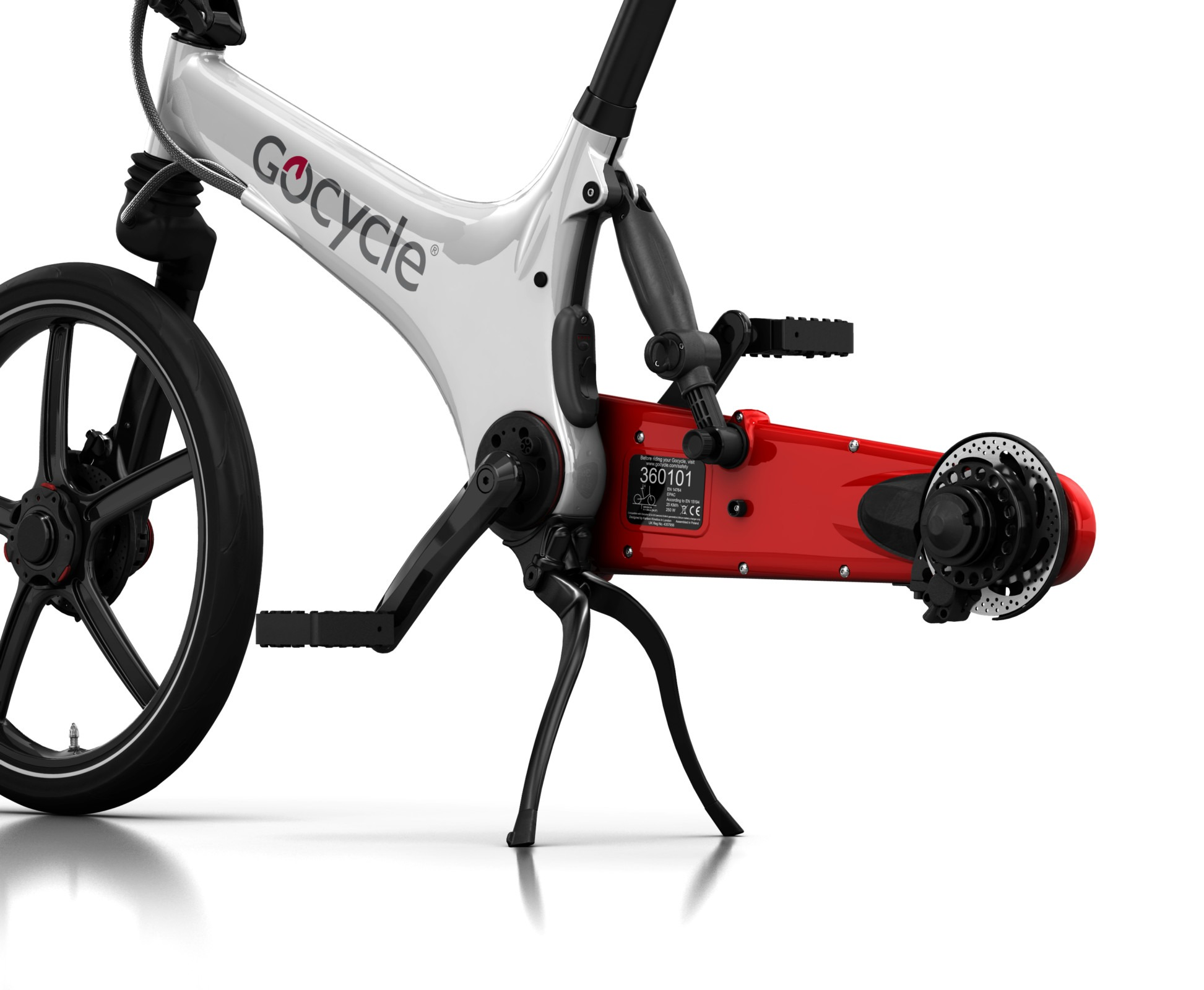 Gocycle G3 Kickstand inovativna tačka