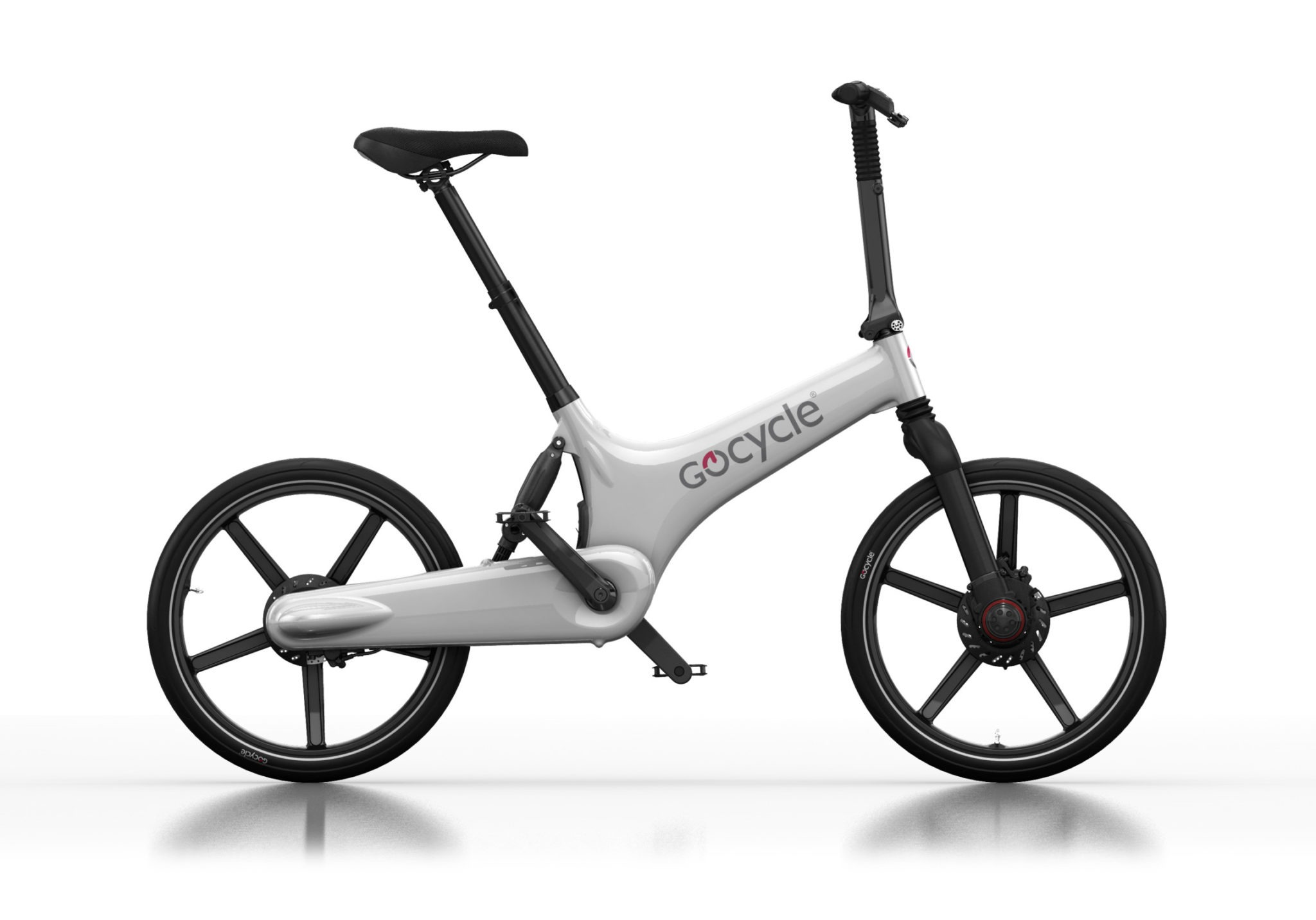 Gocycle G3 bele barve