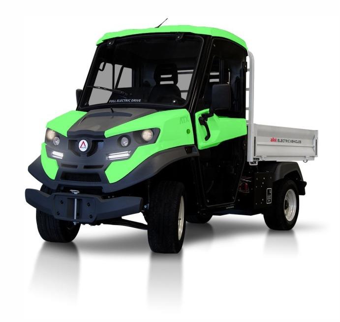 Električno delovno vozilo ATX 310E