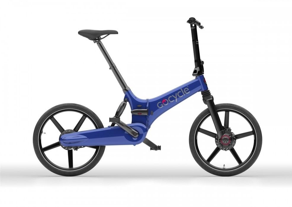 Gocycle GX modra barva