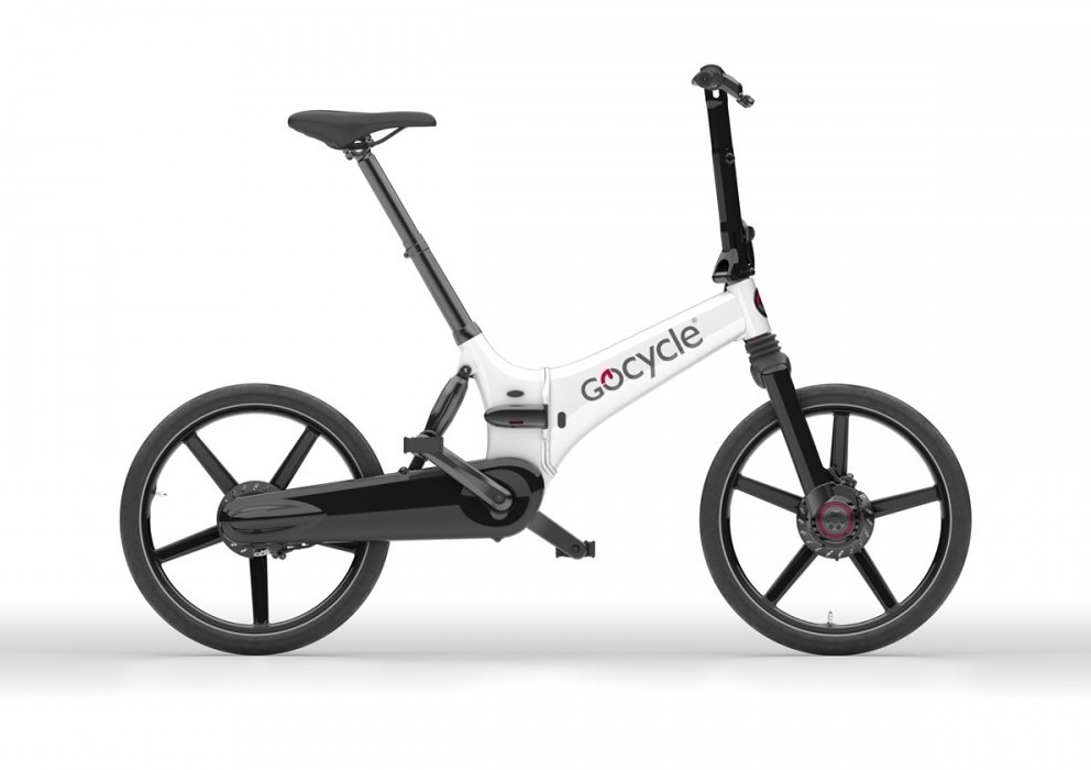 Gocycle GX belo/črna barva