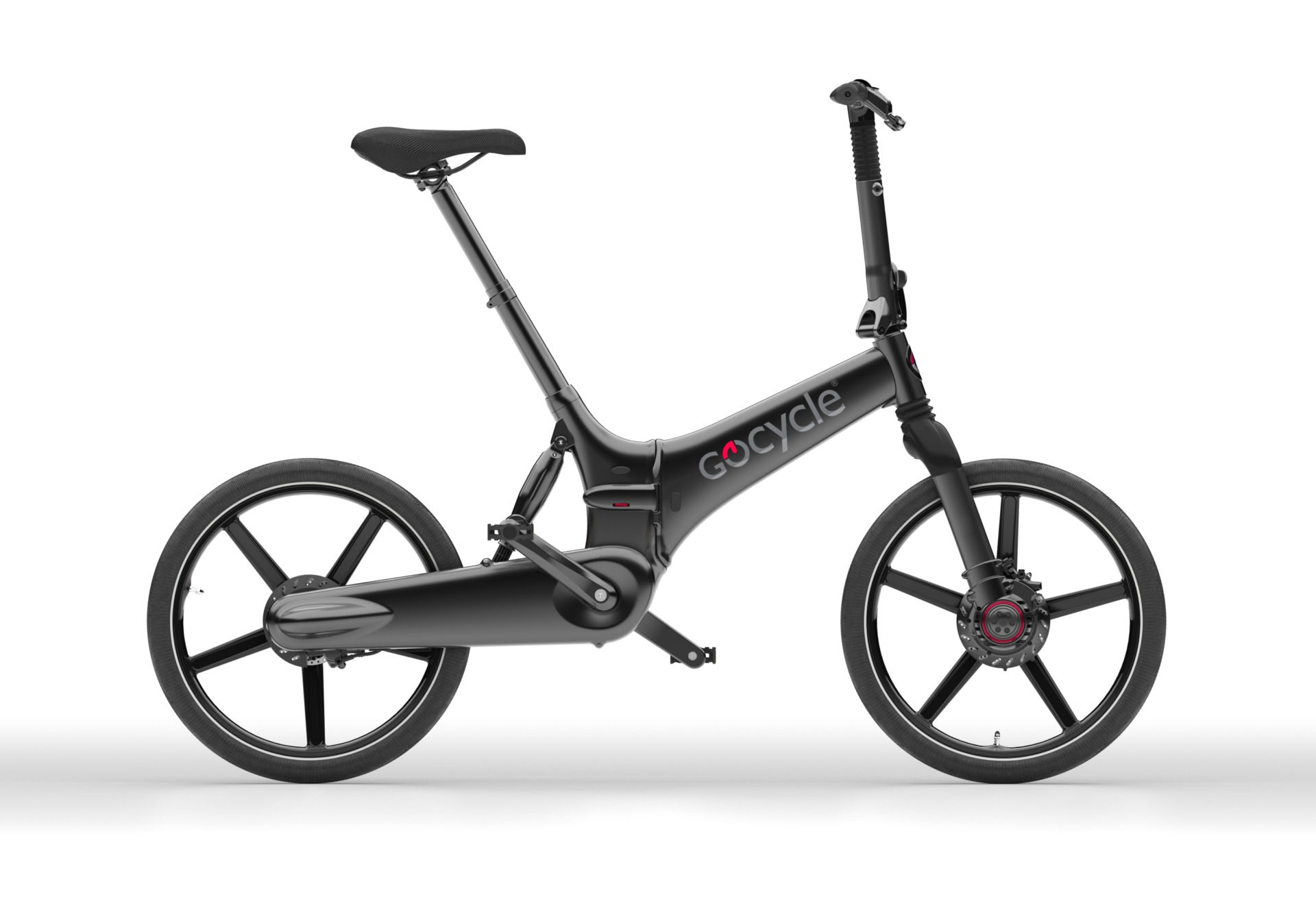 Gocycle GXi - črn