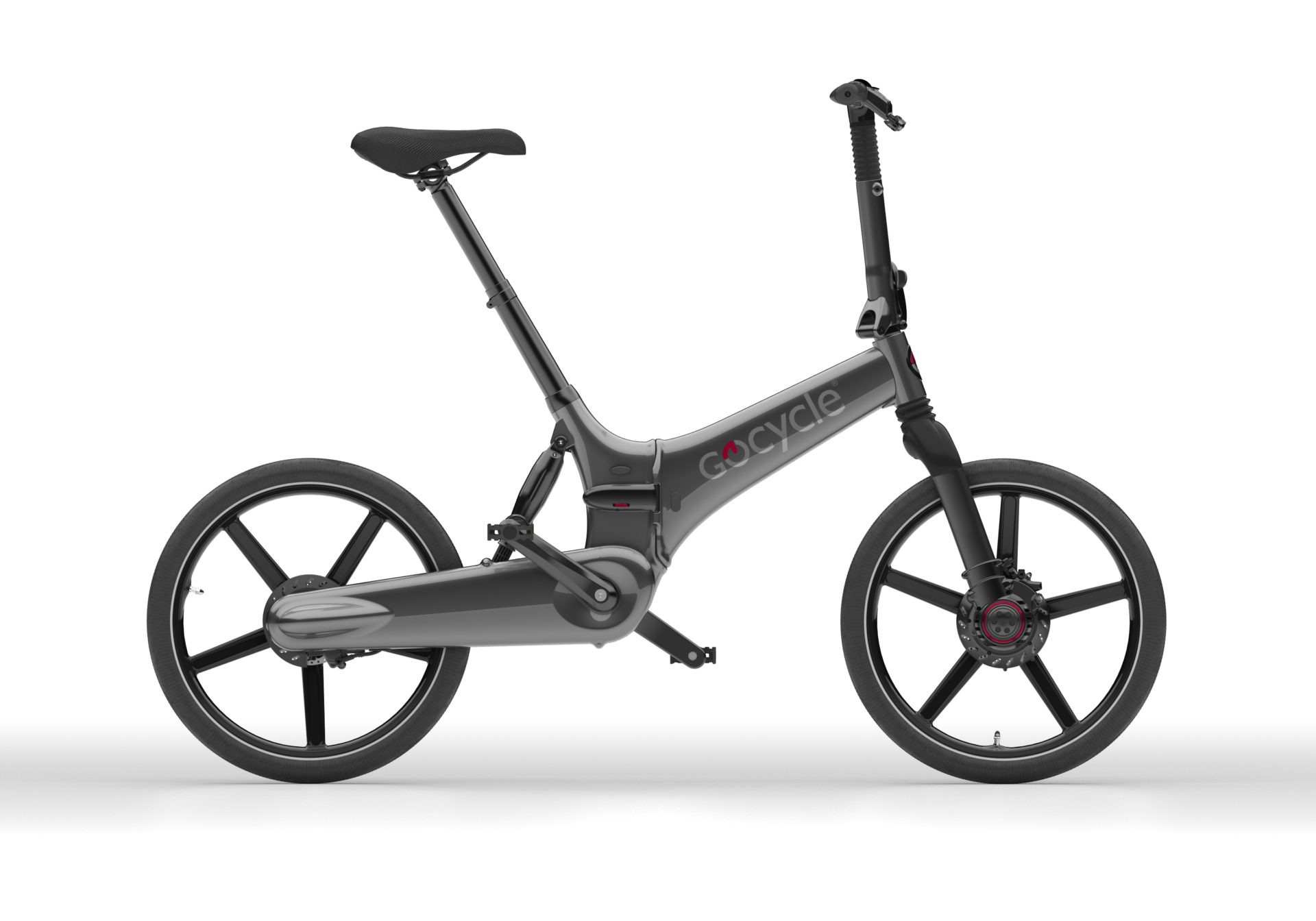 Gocycle GXi - metalno siva