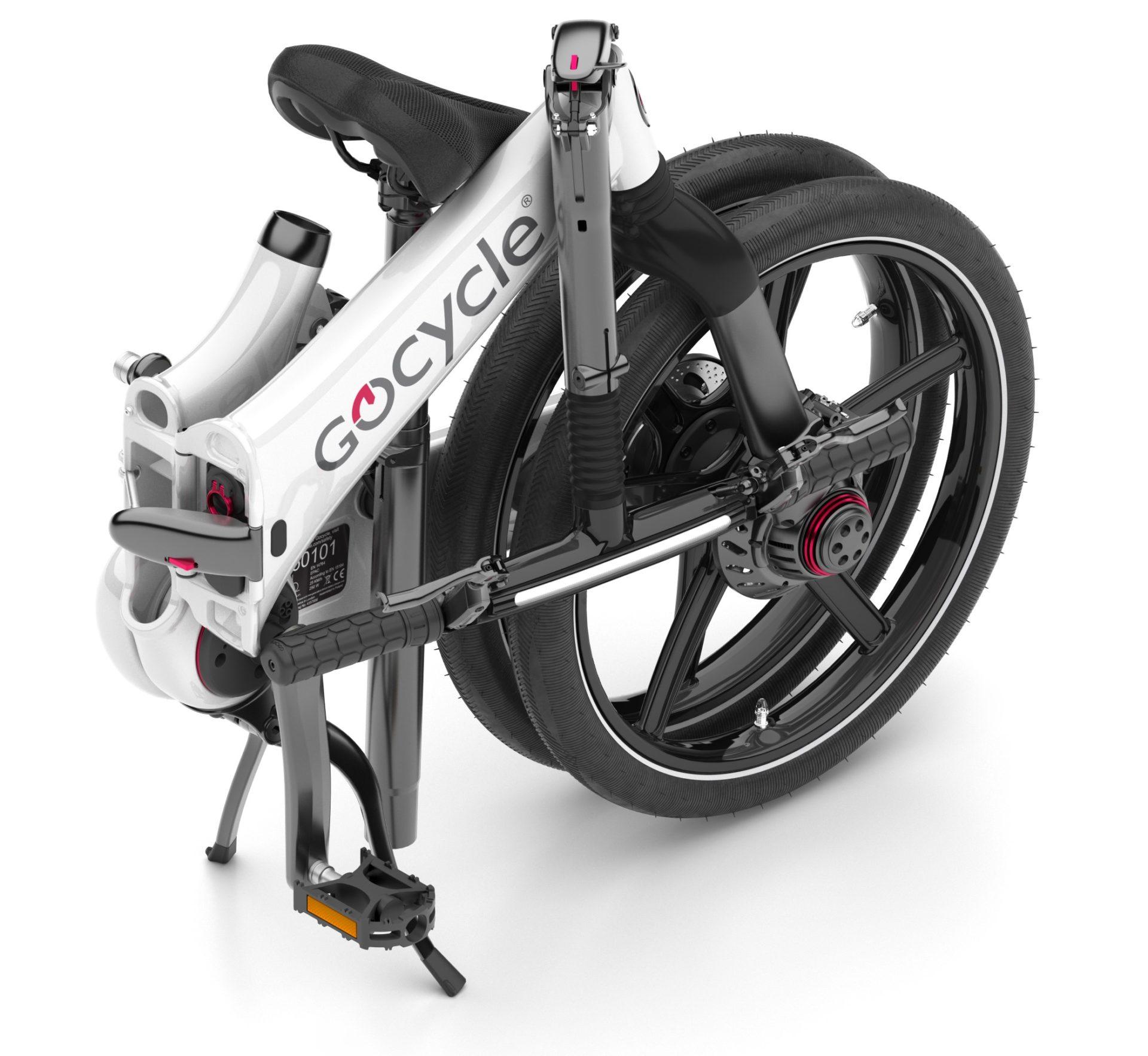 Gocycle GXi sestavljeno kolo
