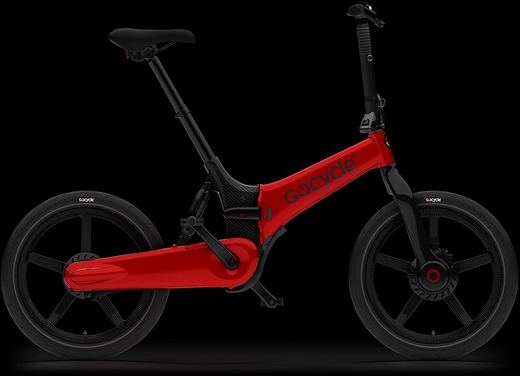 Gocycle G4i Plus rdeče barve