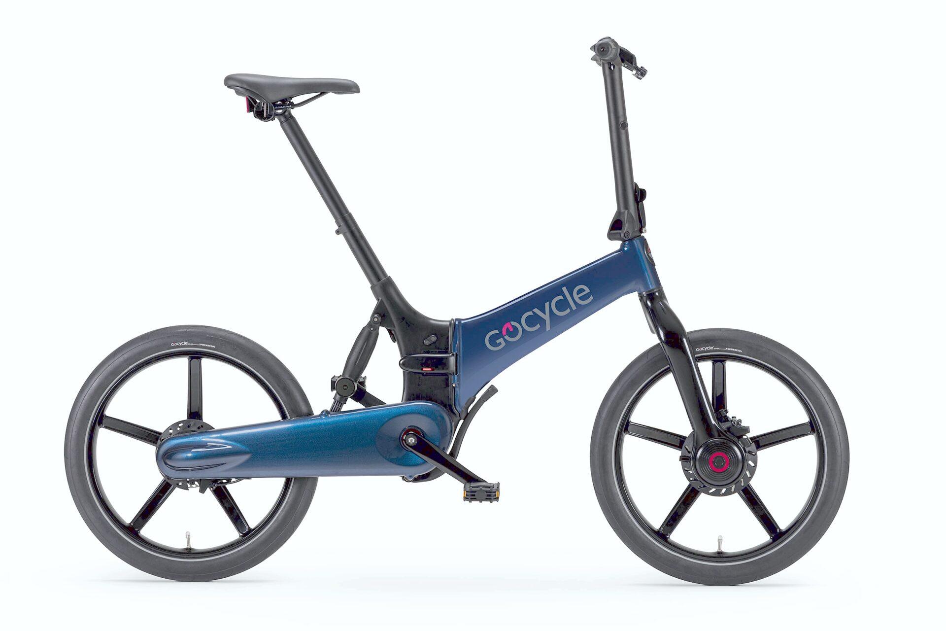 Gocycle G4 modra barva