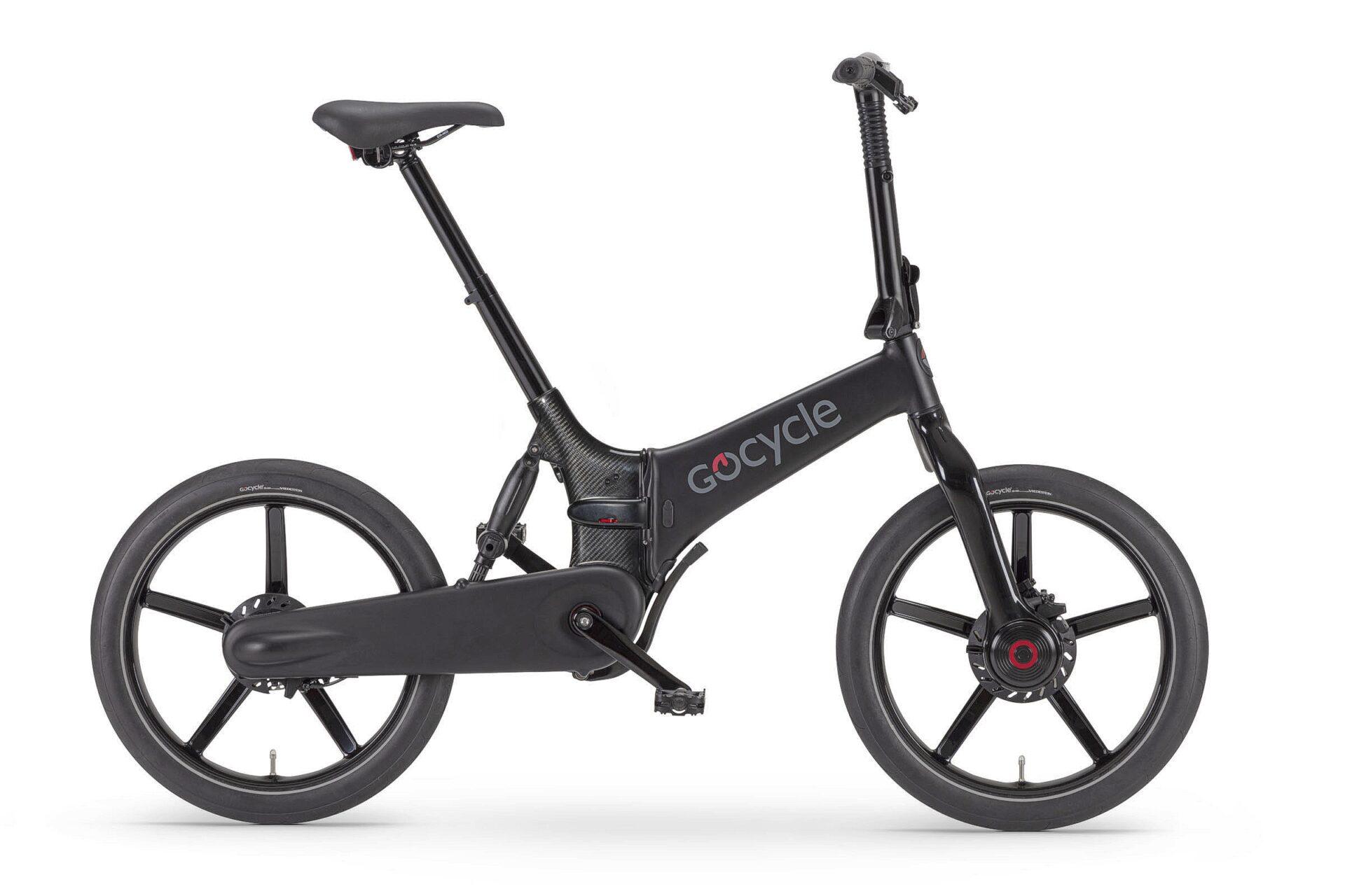 Gocycle G4i črne mat barve