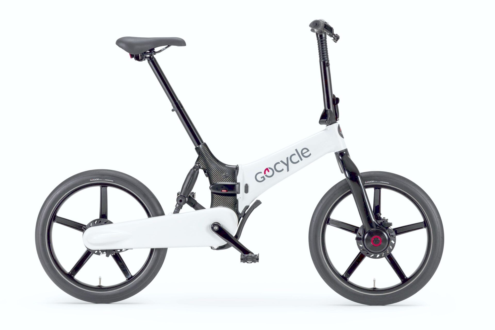 Gocycle G4 belo/črna barva